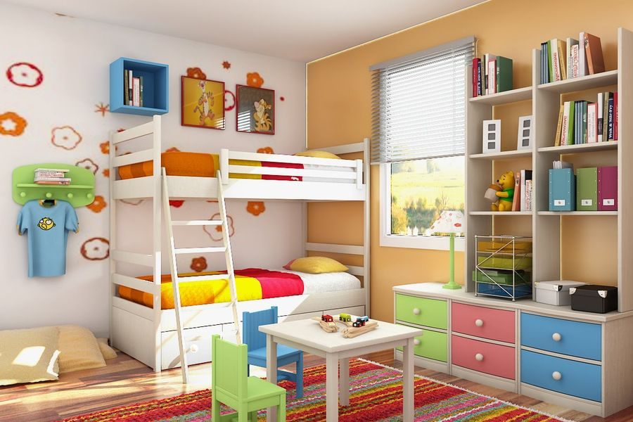 Kids Room Interior Designing Ideas