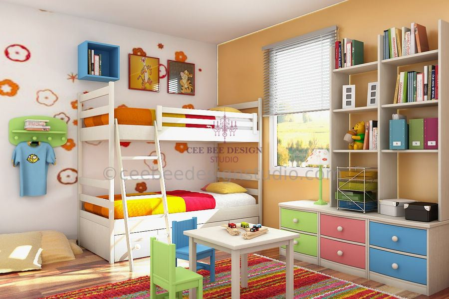 interior designing of kids room